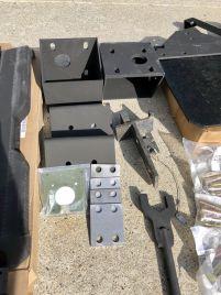Plug plate, spacers, brackets ...